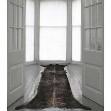 Tapis,super long stretched cowhide